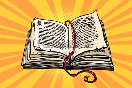 ancient book religion fairy tale and