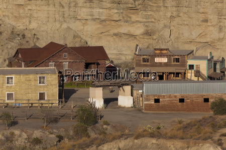western film set in tabernas desert