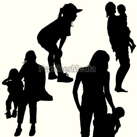 familiensilhouetten