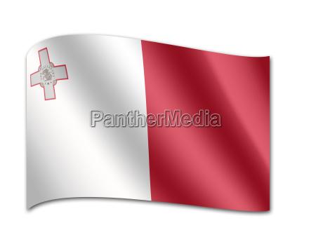 flagge, von, malta - 24552046