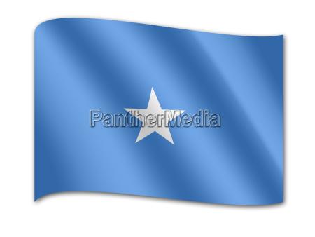 nationalflagge somalia afrika