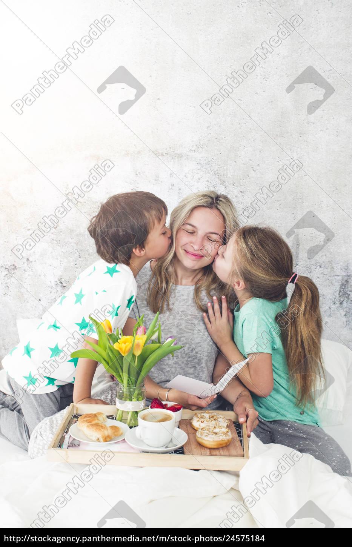 mother´s, day, -, children, surprise, their - 24575184