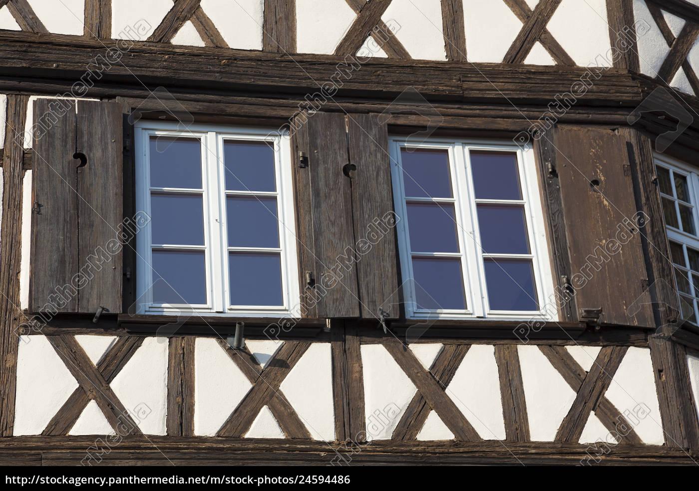 Architecte Bas Rhin stockfoto 24594486 - architecture of the strasbourg bas rhin alsace france
