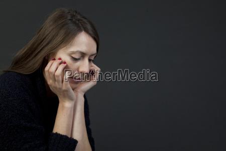 frau traurig depression