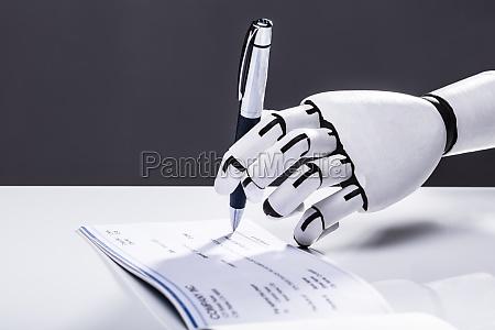 roboter signaturpruefung