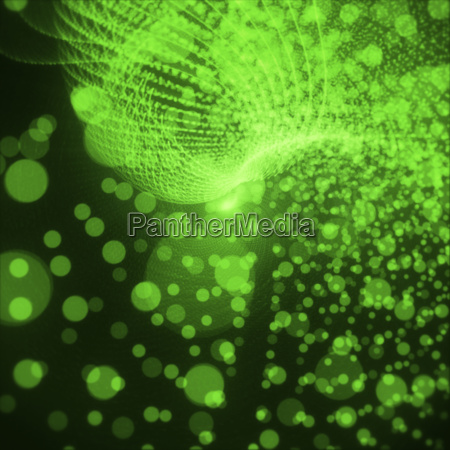 abstract green background bright light on