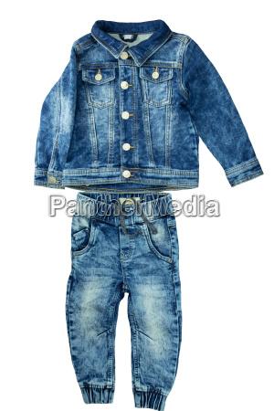 denim jacket and jeans pants fit
