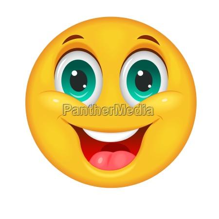 laechelnder smiley