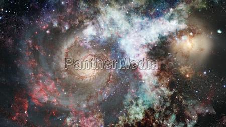 blau space weltall universum kosmos grafik