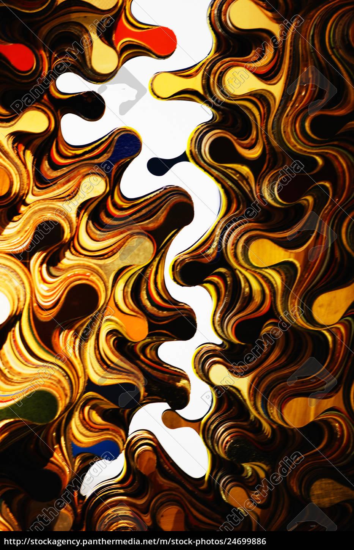 abstrakte, gestaltung, von, farbigen, wirbeln. - 24699886
