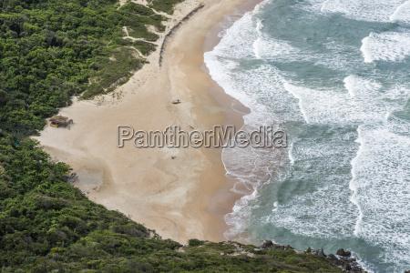 lagoinha do leste beautiful deserted beach