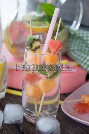 lemonade with fresh fruit