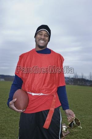 black man member of an american