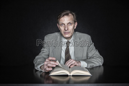 studio portrait of caucasian man actor
