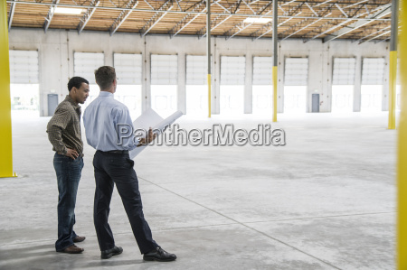 back man owner of new warehouse