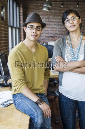 asian woman and hispanic man together