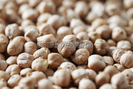 chick peas close up