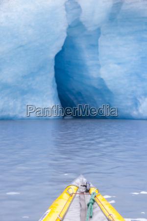 usa alaska valdez glacier kajak in