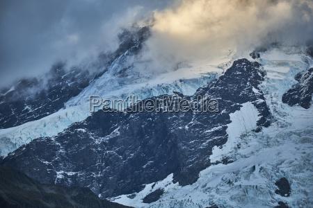 neuseeland suedinsel mount cook nationalpark mount