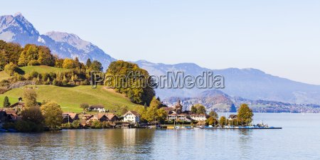 switzerland canton of bern daerligen lake