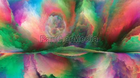 kunst visualisierung komposition farbe model entwurf
