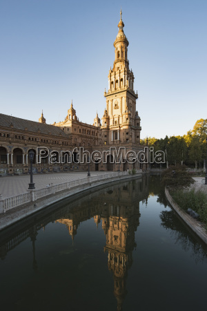 spain andalusia seville tower in plaza