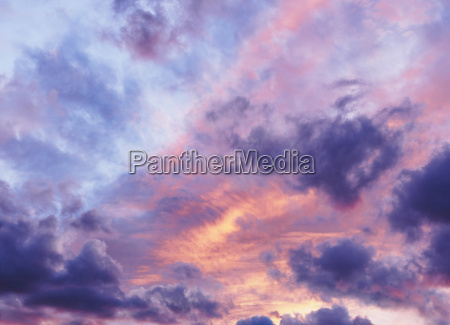 sonnenuntergang abendrot horizontal lila outdoor freiluft