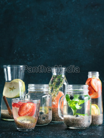 differnet chia water in glass copy