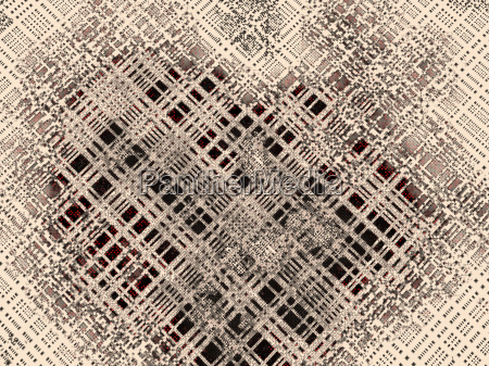 abstract tech background with squared pattern