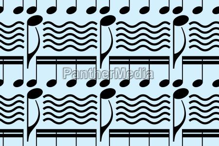 muster musik noten