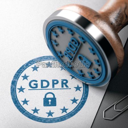 dpm gdpr label eu allgemeine datenschutzverordnung