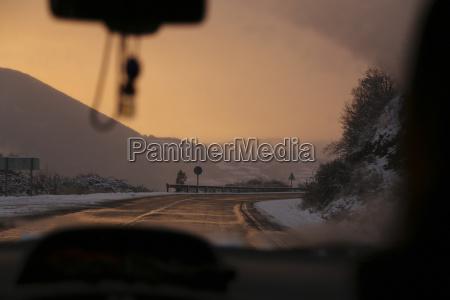 fahrt reisen umwelt berge winter verkehr