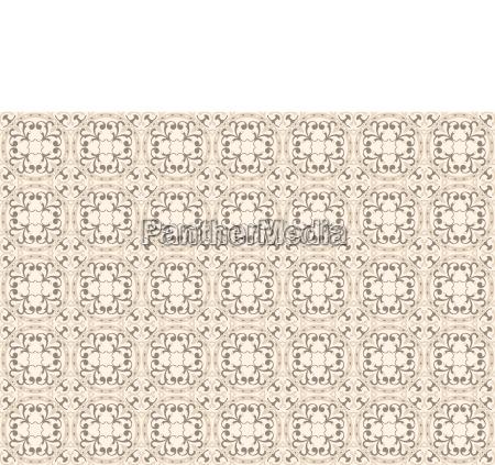 ornamental decorative seamless pattern