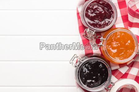 tasty fruity jam