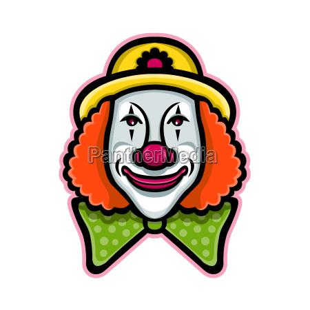 zirkus clown mascot