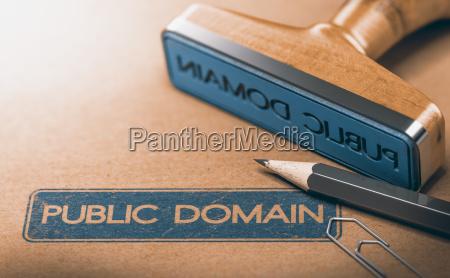 public domain material die rechte an