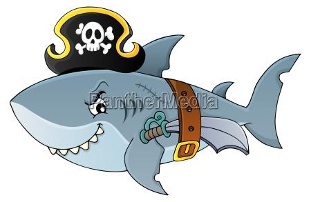 piratenhai thema bild 4
