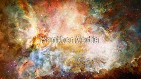 nebel und galaxie im raum elemente