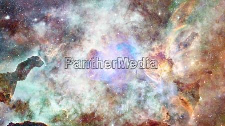galakse og nebula abstrakt baggrund elementer