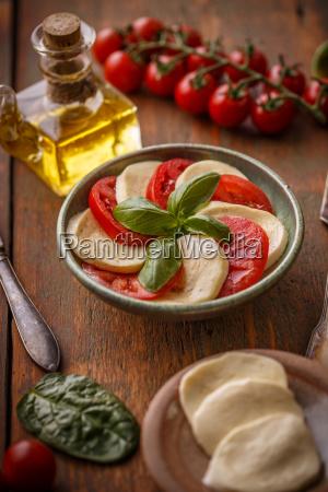 traditional italian salad caprese