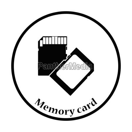 memory card icon vector illustration