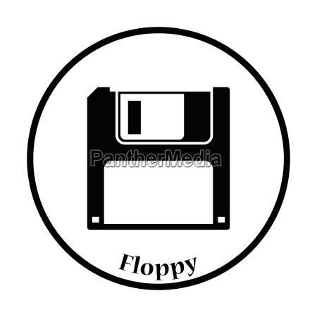 floppy icon vector illustration