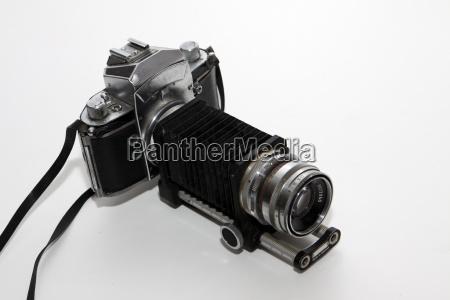alte analoge spiegelreflexkamera
