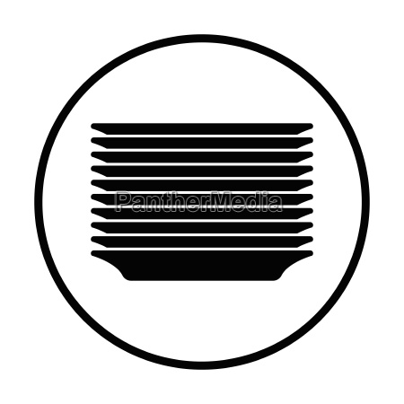plate stack icon