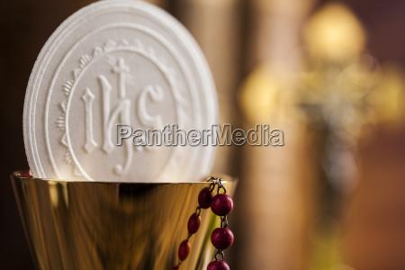 eucharistie sakrament des kommunionhintergrunds