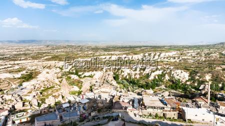 panoramablick auf die berglaender rund um
