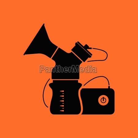 elektrische brustpumpe ikone