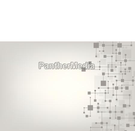 vector abstrakte hintergrundtechnik im schaltkreiskonzept auf