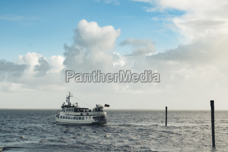 germany north sea ferry on her