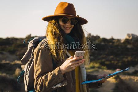 italy sardinia smiling woman on a